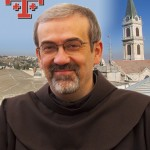 Br. Pierbattista Pizzaballa ofm, was born at Cologno al Serio (Bergamo) on 21 April 1965. He entered into the novitiate on 22nd September 1984 (La Verna). He was simply professed on 7th September 1985, solemnly professed on 14th October 1989 and ordained priest on the 15th September 1990.     He did his initial formation in the OFM colleges of the Emilia-Romagna and obtained his BA in theology in 1990 (Pontificium Atheneum Antonianum under prof. M. Adinolfi). He proceeded with his studies for Licentiate in Theoloogy with biblical specialization at the Studium Biblicum Franciscanum of Jerusalem (1990-1993), which he obtained in 1993. He attended courses of modern hebrew language in Jerusalem (1993-1994) and took specialization courses in semitic languages at the Hebrew University, Jerusalem (1995-1999) and is preparing his doctorate at the Studium Biblicum Franciscanum. He published with M. Pazzini (1995) the Rite of the Mass in Hebrew (Seder seudat ha adon. Ordo Missae hebraice) and translated various liturgical texts in Hebrew for the hebrew speaking catholic communities.   Since 1998 is assistant professor at the Studium Biblicum Franciscanum and the Studium Theologicum Hierosolymitanum teaching biblical Hebrew and Judaism. He was Parish vicar for the catholic community of hebrew language in Jerisalem. He was also general assistant to H. E. Mons. Jean-Baptiste Gourion, Auxiliary bishop of the Latin Patriarch of Jerusalem for the pastoral care of the hebrew speaking catholics in Israel. Since 2001 he was superior of the Friary of Sts. Joachim and Anne in Jerusalem. President of the Commission for misisonary Evangelisation and member of the Commisison for Judaism and Islam of the Custody of the Holy Land. He has been elected Custos of the Holy Land and confirmed by the Holy See May 15th 2004.