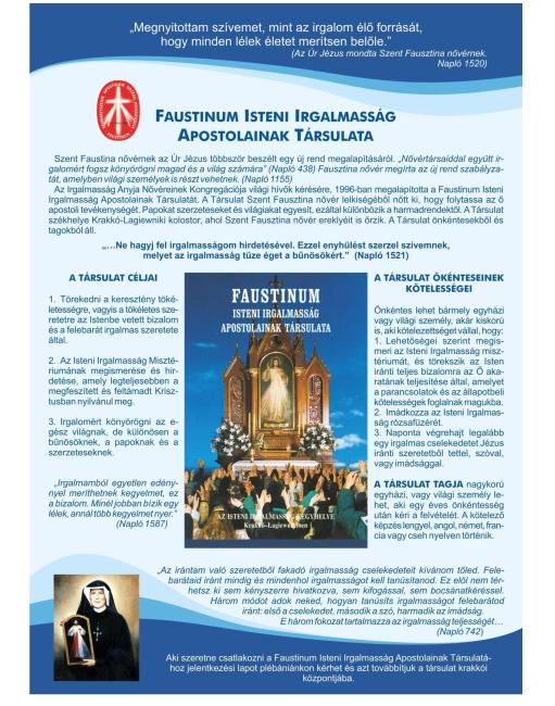 Faustinum Közösség Zalaegerszeg Ferences Templom-10