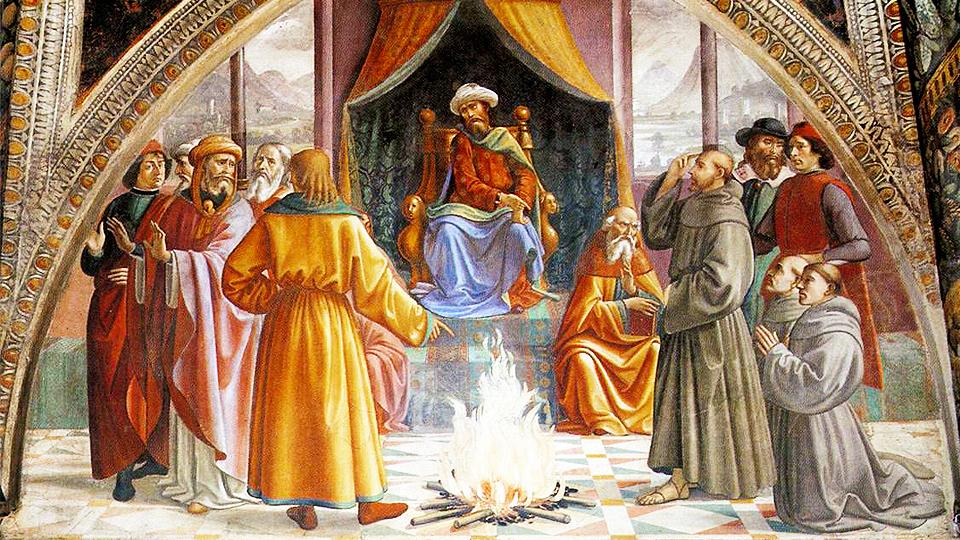Szent Ferenc és a szultán találkozása