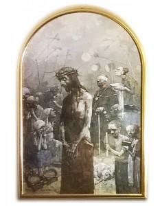 Pilátus elítéli Jézust (Jasna Gora-i keresztút)