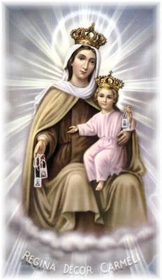 Kármelhegyi Boldogasszony_Our Lady of Mt. Carmel