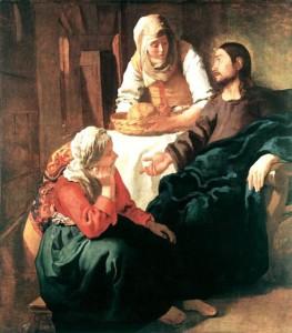 Maria-en-martha-Johannes-Vermeer