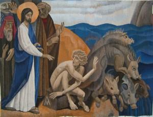 gadarenes-wine-tapestry-exocism