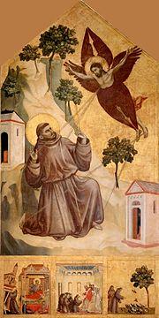 Giotto._Stigmatization_of_St_Francis._1295-1300._314x162cm._Louvre,_Paris