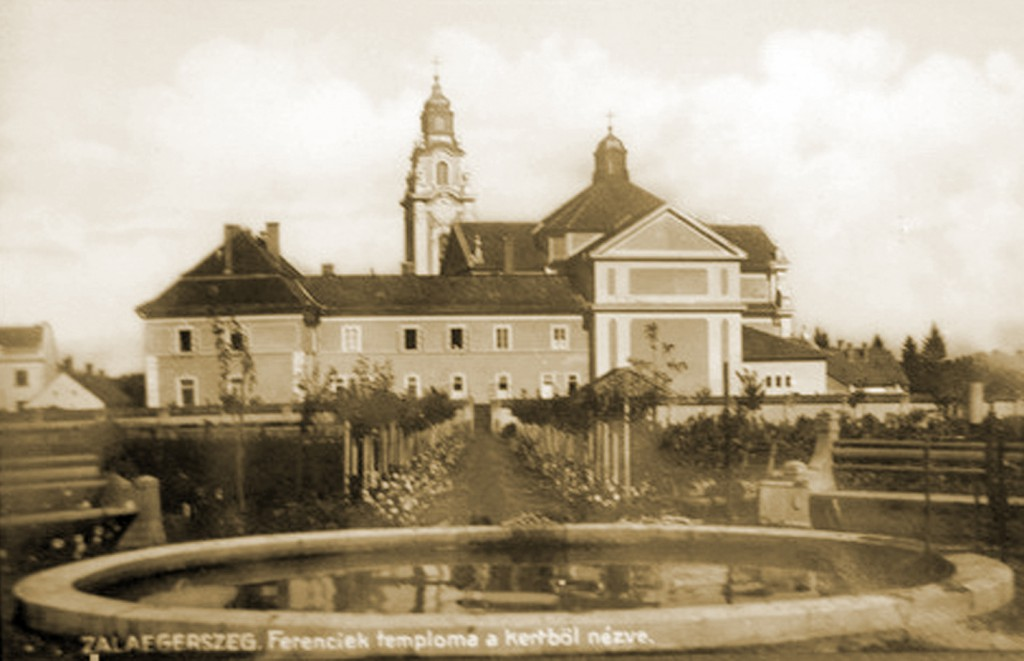 zalaegerszeg-ferenciek-temploma-a-kertbol-nezve
